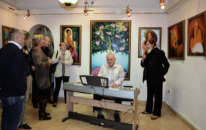Výstava obrazů Veronika Švédová, galerie D, Brno 2013